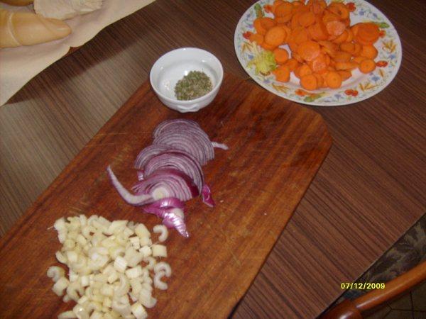 Vellutata di carote e sedano.
