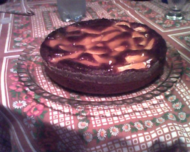 torta di mele con farina di castagne
