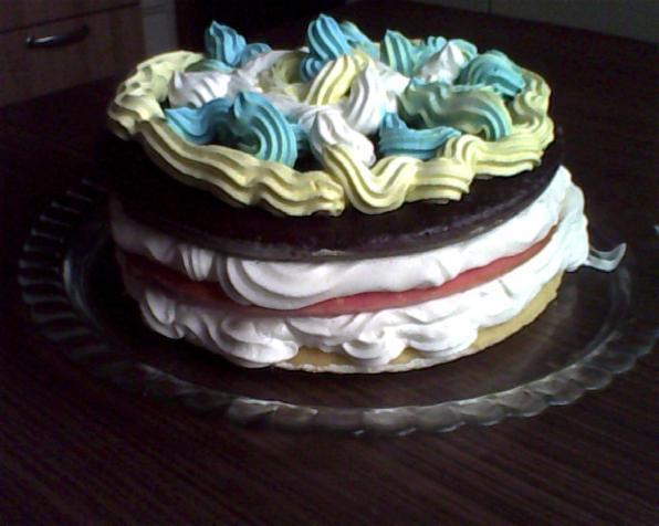 torta arcobaleno..........