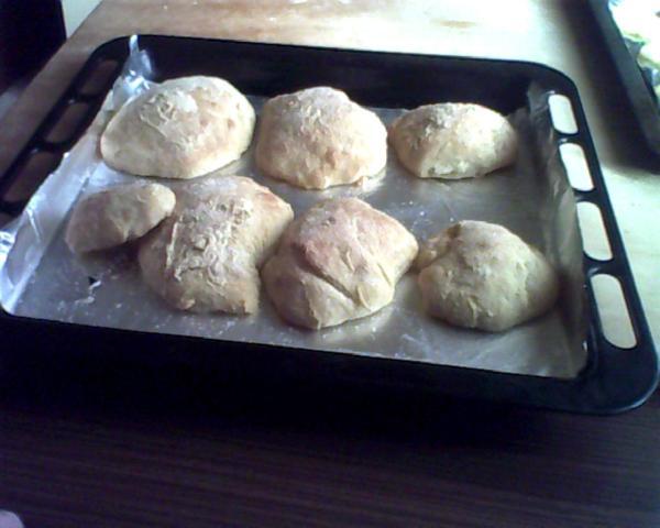 pane arabo appena cotto