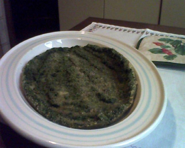 frittata di spinaci al forno.