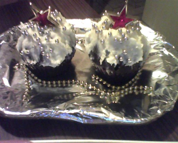 cupcake natalizi decorati