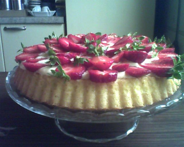 torta di fragole