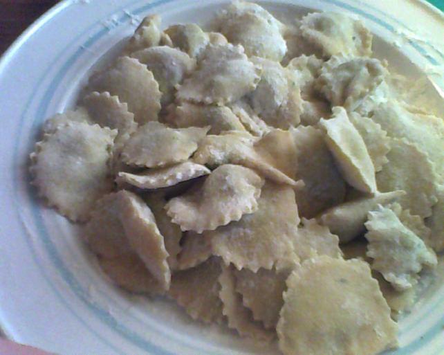 ravioli spinaci e formaggio